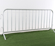 Used metal safety crowd control barriers