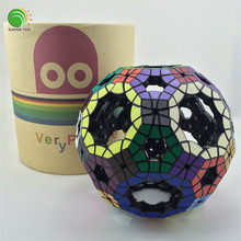 VeryPuzzle 62 axis twisty cube Void Truncated Icosidodecahedron VTI assembled