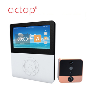 ACTOP Metal 4.5 inch display screen WiFi door viewer digital peephole