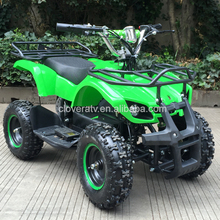 Battery Powered Electric Start Manual Electric Kids ATV 500W with Disc Brakes
