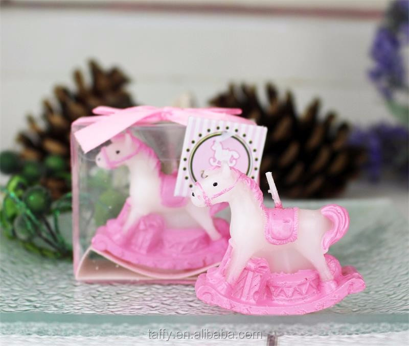 Pink Blue Kids Birthday Party Guest Souvenirs Present Return Gift Boy Girl Baby Shower Favor Rocking