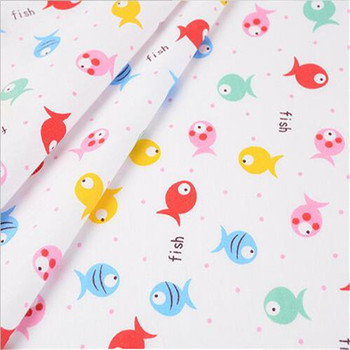 Twill 100% cotton digital printed fabric for kids bedding set , cartoon patterns calico cotton fabric wholesale