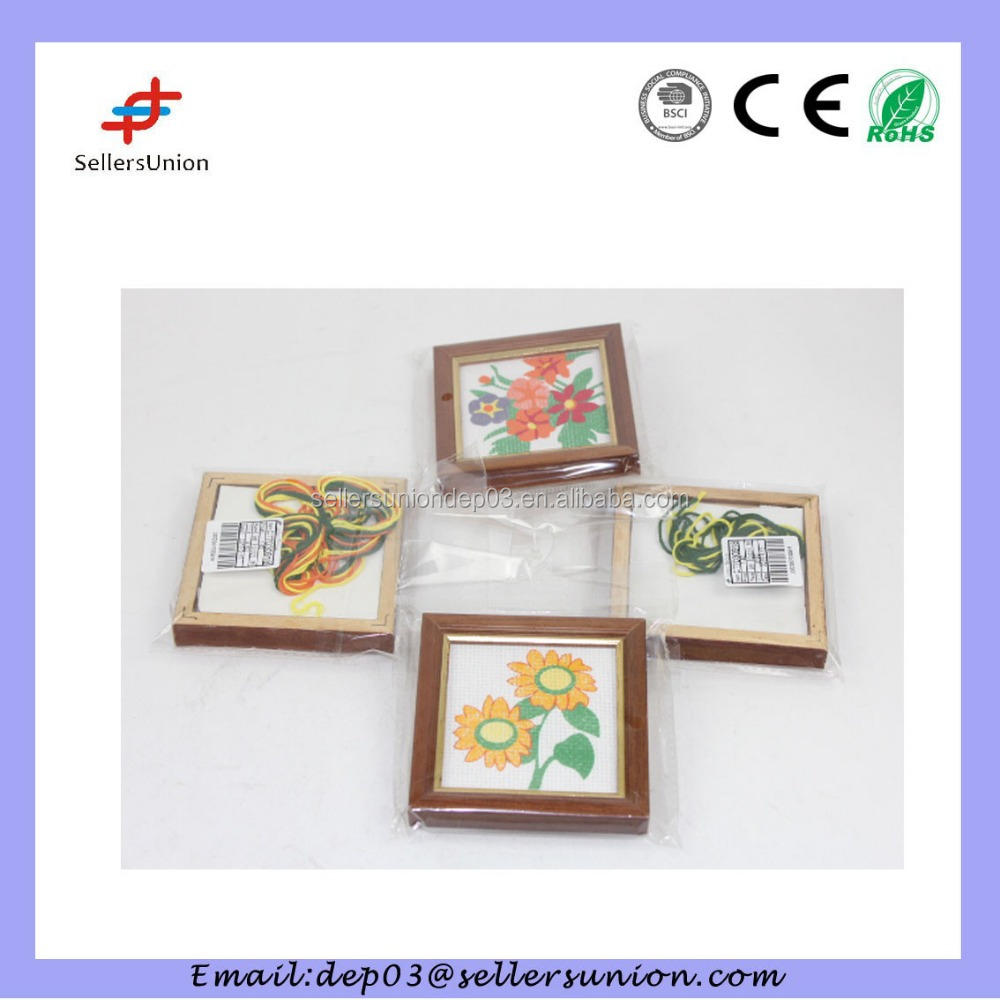 Decorativa Hand-Made Cross-Stitch Kit de Ponto-Cruz