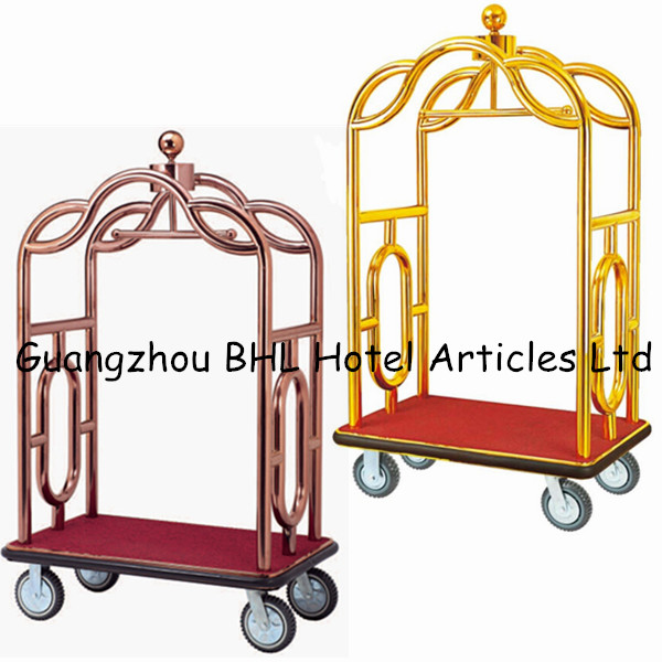 heavy duty acier inoxydable porte bagages chariot titane. Black Bedroom Furniture Sets. Home Design Ideas