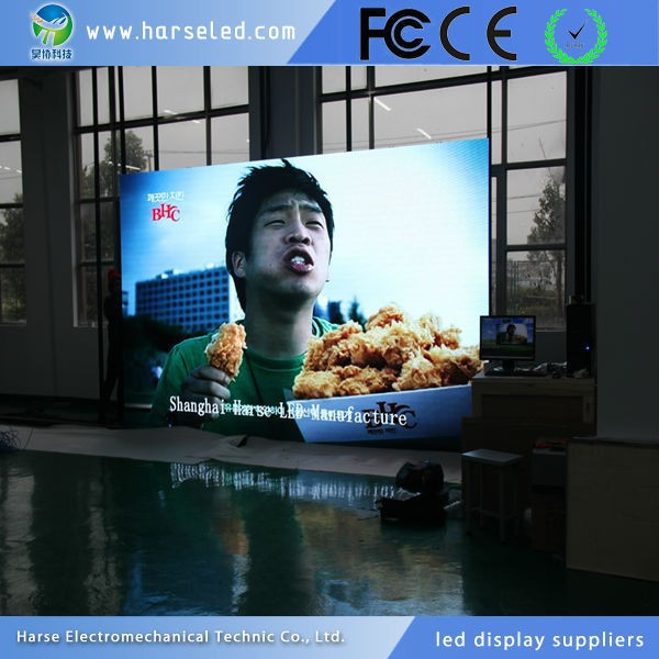 HD 4mm big screen led module display video photos harse