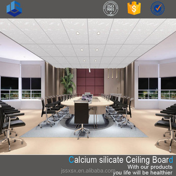 Fireproof Calcium Silicate False Ceiling Tile View