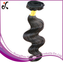6A Natural color hair 100% human Hair extension, body wave 3 bundle unprocessed cheap Brazilian virgin hair weaves