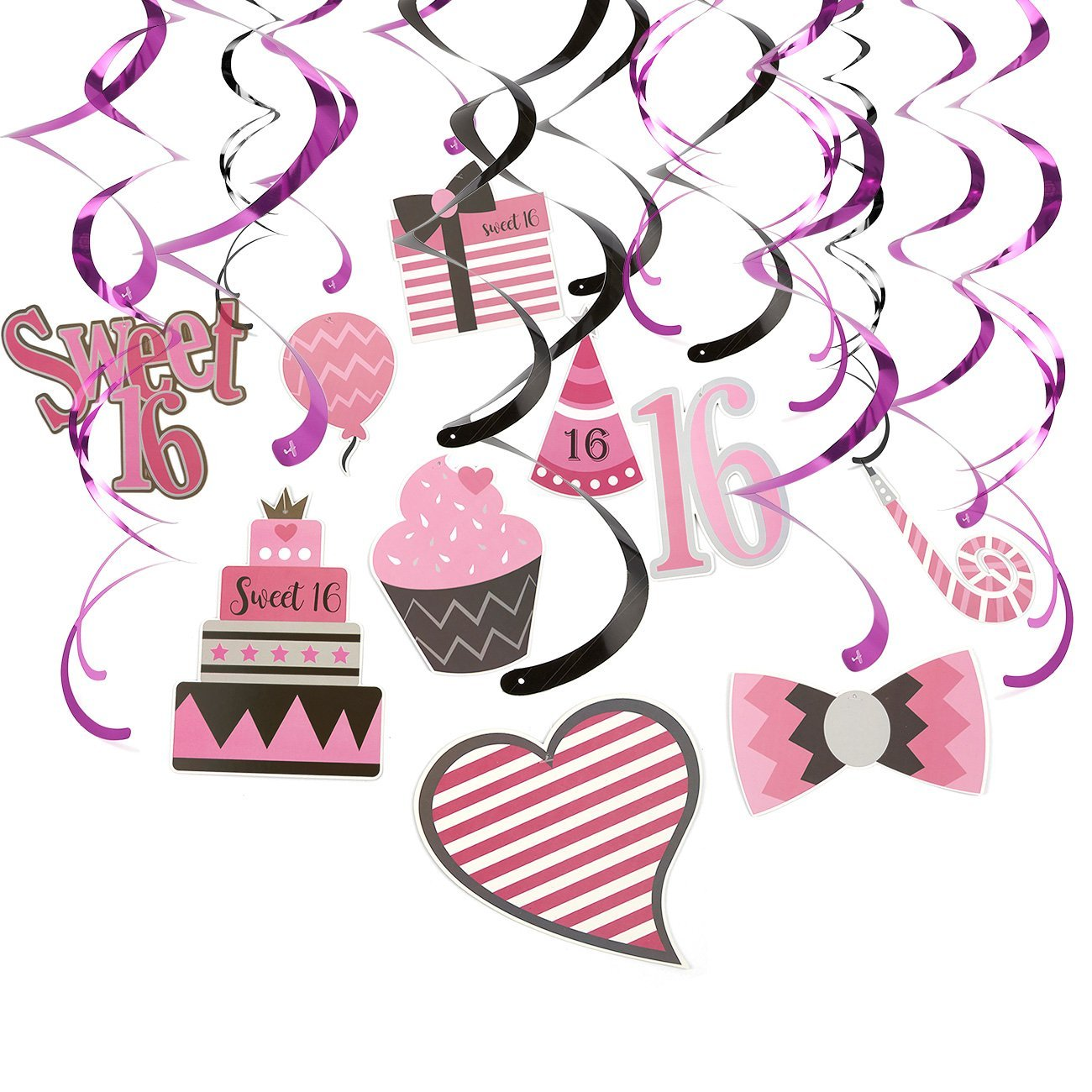 Get Quotations 30 Count Swirl Decorations