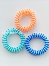 Telephone cord line hair ties , telephone wire hair band , double color hair band