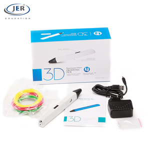 Eco friendly Jer brand auto loading filament printing 3d pens printer with LOGO