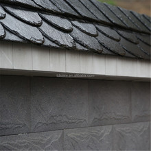 Traditional villa natural stone roofing slate tile