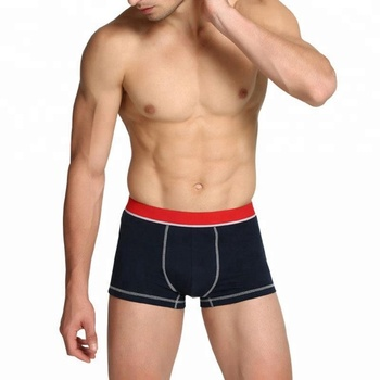High quality combed cotton mens underwear boxer briefs
