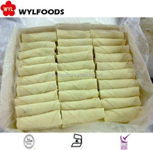 Whole sale Chinese high quality IQF frozen spring roll snack
