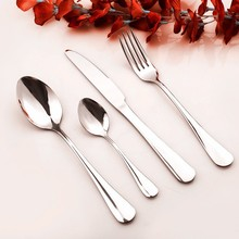 China Stainless Steel Cutlery Manufacture High Quality 5 Pieces of Set Royal Polish Stainless Steel Cutlery Set Cutlery