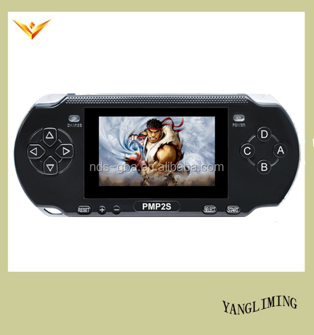Pocket game player for PMP-2S with 400 different games gaming console