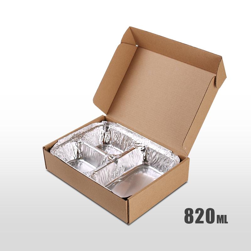 Custom made takeout food packaging cardboard box