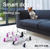 GLOBAL DRONE 777-338 RC Intelligent Simulation Pet Mini Dog 2.4GHz RC Robot Smart Dog Toys For Sale