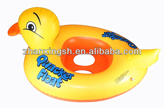 Inflatable Rubber Duck Ring