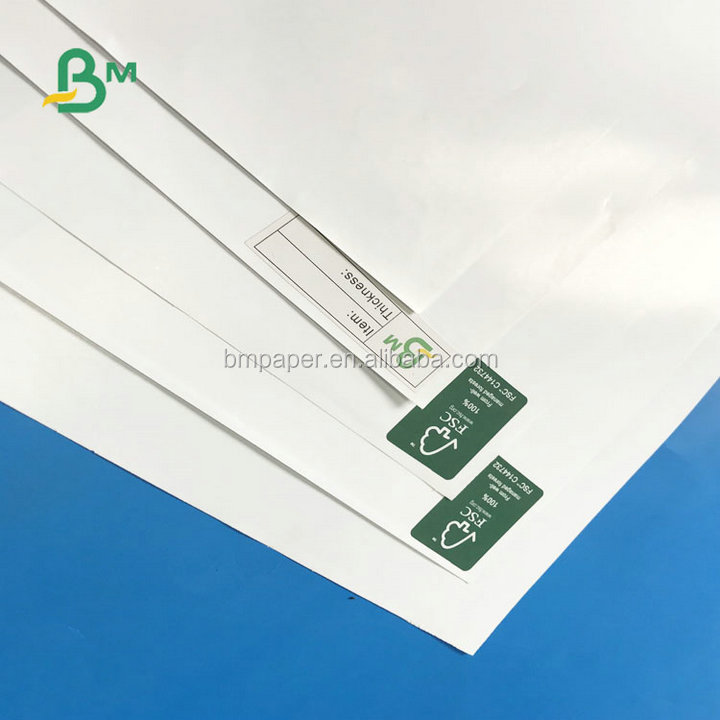 Virgin Wood Pulp Silk Glossy 120gsm 70*100cm C2S Coated Couche Paper For Offset Printing