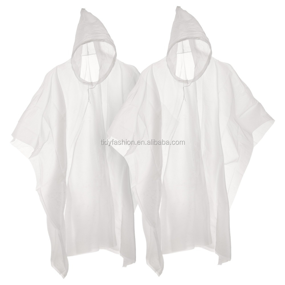 PVC Clear Transparent Waterproof Rain Gear