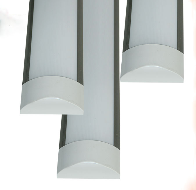 36W LED tube lighting fixture 2ft 3ft 4ft 5ft 6ft 8ft, aluminum 4ft led shop lighting fixtures