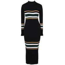 2018 High Quality Winter Fashion Womens Sexy Custom Long Sleeve Tight Knitted Sweater Dress