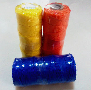 many colors 200 yards spool / coil packing 1.5mm,2mm pe fishing twine / corde for fishing industrial purpose