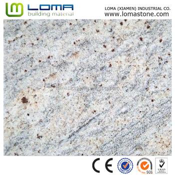 China Nature Polish Stone Kashmir White Granite Red Diamond Slabs