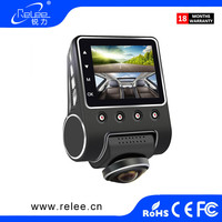 new arrival 2.5 inch LCD hd wifi car camera 360 degree recorder dash cam with G-sensor