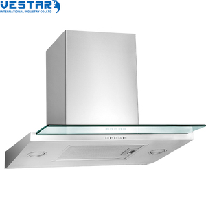 new product design air cooker hood With LED light from vestar