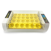 24 Eggs full automatic poultry egg incubator