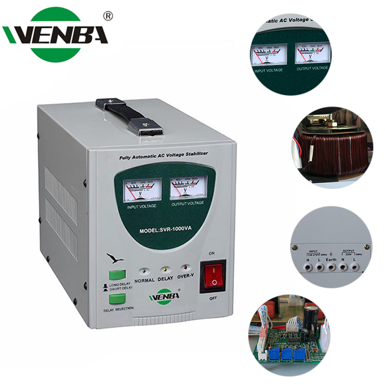 SVR-1000VA Multipurpose 1000Va 10Kw Automatic Voltage Stabilizer/Parts Of Voltage Stabilizer