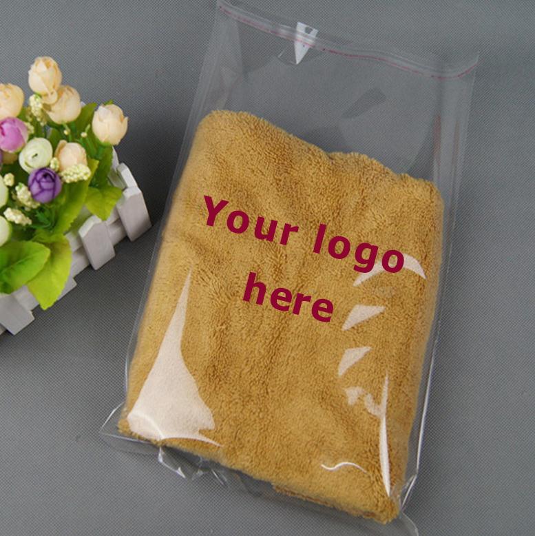 卸売格安クリア自己粘着シール服 opp 包装ビニール袋/クリアポリ tシャツバッグ