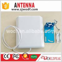 1700-2500 Mhz indoor signal booster for 2G 3G 4G cell phone signal antenna