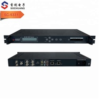 SC-5331 digital to analog audio converter satellite tv receiver hd ip to sdi converter decoder receiver with cam module ci slot