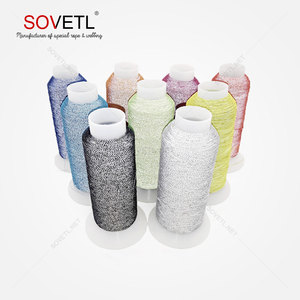 Polychromatic optional 0.15mm HT - polyester reflective embroidery sewing thread for clothing