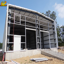 Steel structure prefab workshops production plants