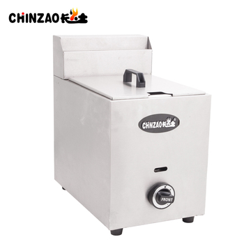 CHINZAO Most Popular Products Outdoor BBQ Machine Commercial Automatic Chicken Gas Fryer