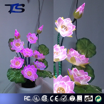 Holiday Decor Large Artificial Lotus Flower Making In Art Pots Buy