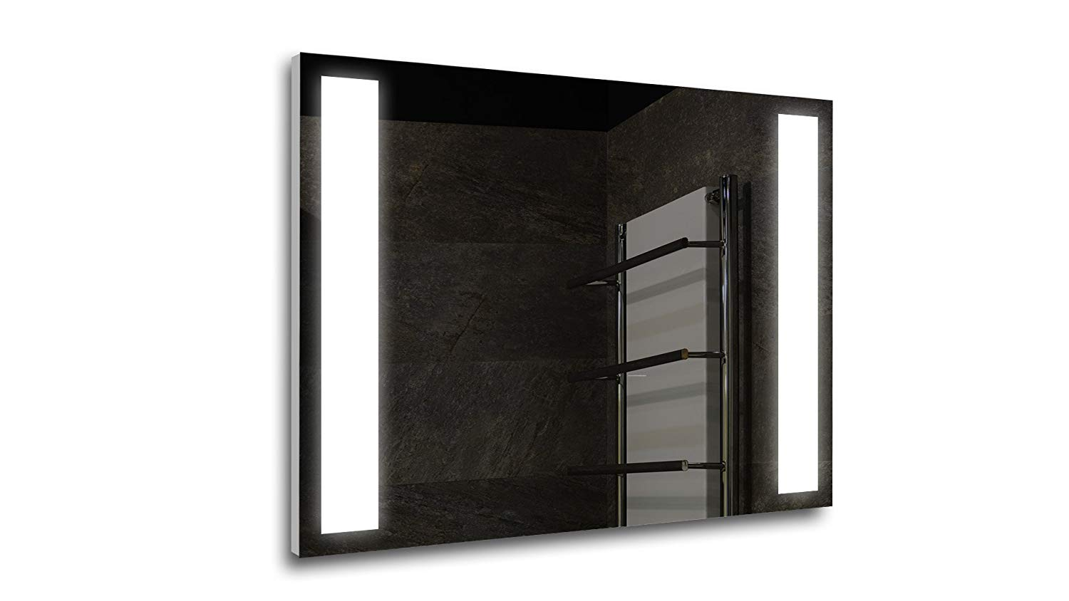 Tilebay LLC Cazzo Led Lighted Mirror| Bathroom Mirror| Led Make-up Mirror| 3 Switch Types Available (31x23, Remote Control)