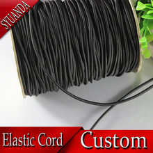 wholesale high quality Environmental Protection round elastic cord 3mm