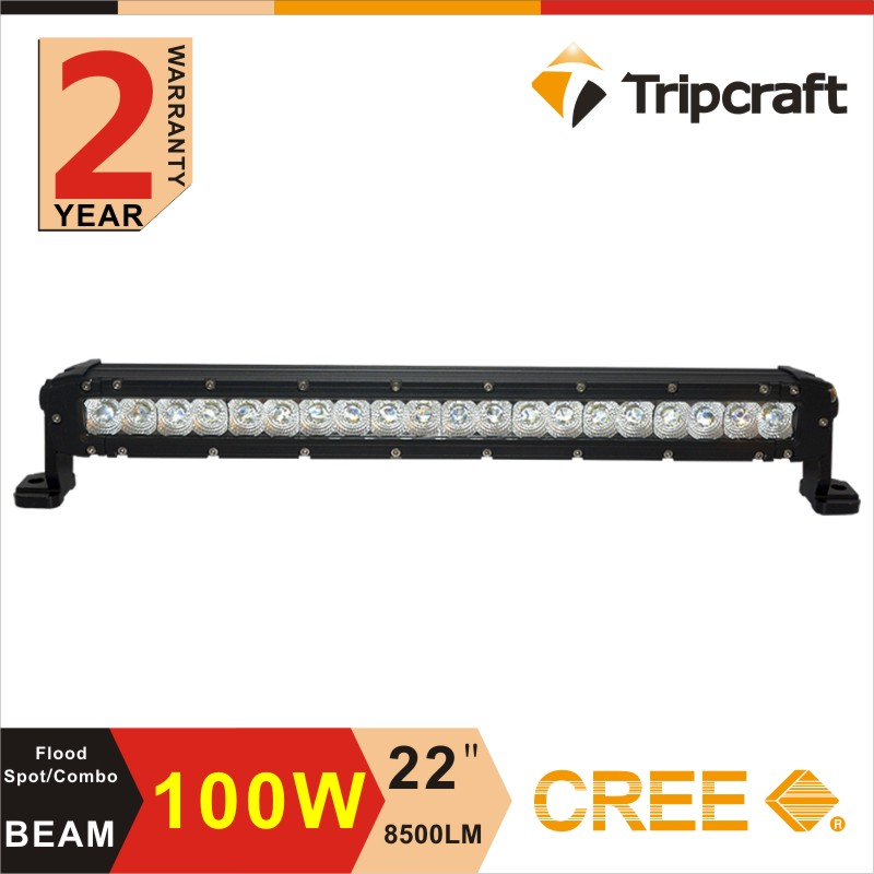 "Vehicle-mounted 100W LED light bar, full testing 22"" led flood light bars"