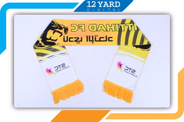 Top Quality Sport Fan Flag Scarves Printed Type Custom Design Football Knitted Sport Scarf