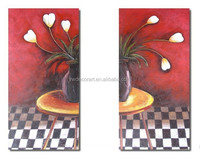 Cheapest price Hand-paint oil painting for bedroom