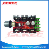 Geree DC 12V 24V 36V 40V 30A(40A 1000W MAX) PWM motor HHO RC Motor Speed Controller