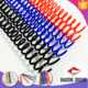 Product new colorful A4 size plastic material binding supplies plastic spiral coil