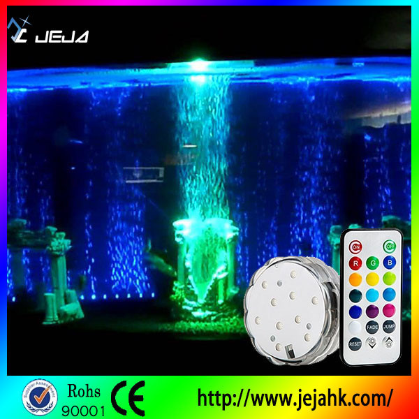 Waterproof led onderwater fontein licht/led aquarium