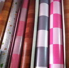 Plastic pvc floor covering and Vinyl flooring mat roll on sale