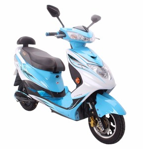 High speed 1000W pedal assist adult vespa electric scooter