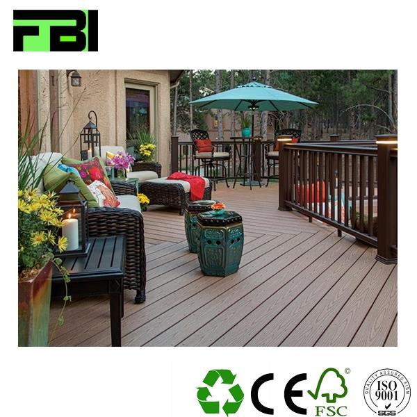 wpc eco wood pvc wpc decking solid white oak outdoor wood decking